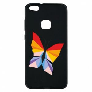 Phone case for Huawei P10 Lite Bright butterfly abstraction - PrintSalon