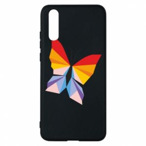 Phone case for Huawei P20 Bright butterfly abstraction - PrintSalon