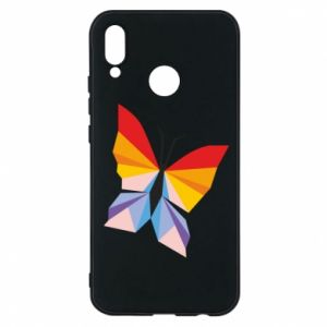 Phone case for Huawei P20 Lite Bright butterfly abstraction - PrintSalon