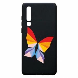 Phone case for Huawei P30 Bright butterfly abstraction - PrintSalon