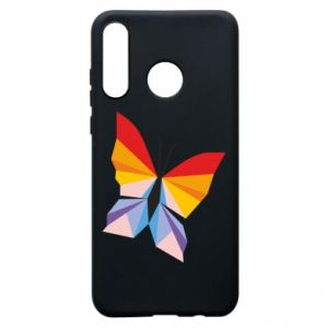 Etui na Huawei P30 Lite Bright butterfly abstraction