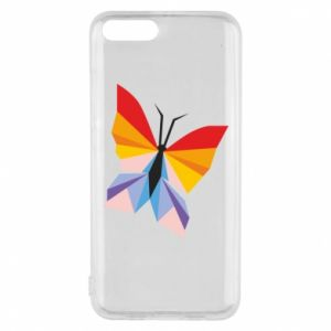 Phone case for Xiaomi Mi6 Bright butterfly abstraction - PrintSalon