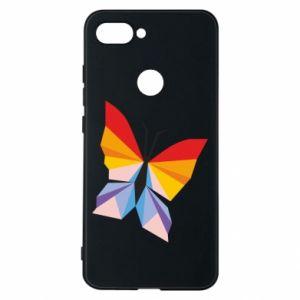 Phone case for Xiaomi Mi8 Lite Bright butterfly abstraction - PrintSalon