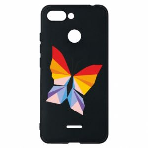 Phone case for Xiaomi Redmi 6 Bright butterfly abstraction - PrintSalon