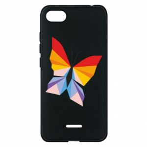 Phone case for Xiaomi Redmi 6A Bright butterfly abstraction - PrintSalon