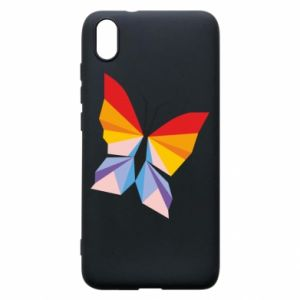 Phone case for Xiaomi Redmi 7A Bright butterfly abstraction - PrintSalon