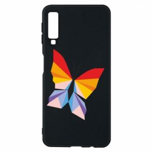 Phone case for Samsung A7 2018 Bright butterfly abstraction - PrintSalon
