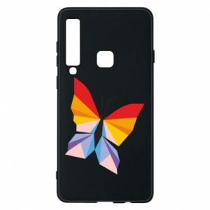 Phone case for Samsung A9 2018 Bright butterfly abstraction - PrintSalon