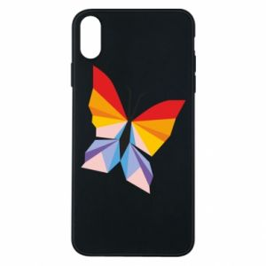 Etui na iPhone Xs Max Bright butterfly abstraction