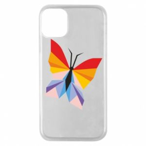 Etui na iPhone 11 Pro Bright butterfly abstraction