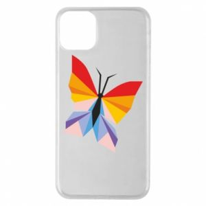 Etui na iPhone 11 Pro Max Bright butterfly abstraction