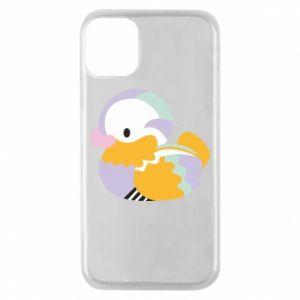 Etui na iPhone 11 Pro Bright colored duck