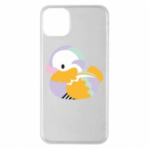 Etui na iPhone 11 Pro Max Bright colored duck