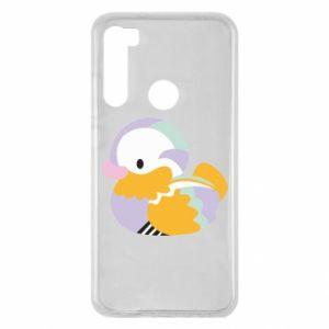 Etui na Xiaomi Redmi Note 8 Bright colored duck
