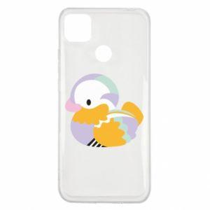 Etui na Xiaomi Redmi 9c Bright colored duck