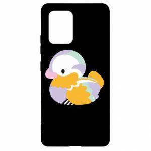Etui na Samsung S10 Lite Bright colored duck