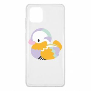 Etui na Samsung Note 10 Lite Bright colored duck