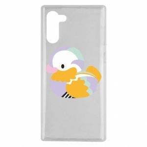 Etui na Samsung Note 10 Bright colored duck