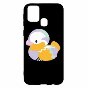 Etui na Samsung M31 Bright colored duck