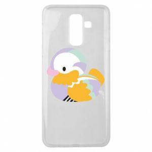 Etui na Samsung J8 2018 Bright colored duck