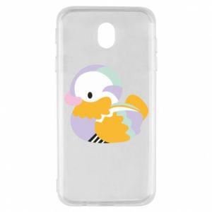 Etui na Samsung J7 2017 Bright colored duck
