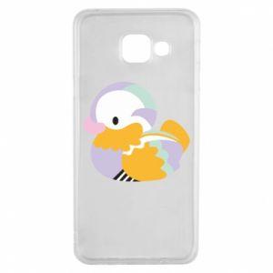 Etui na Samsung A3 2016 Bright colored duck
