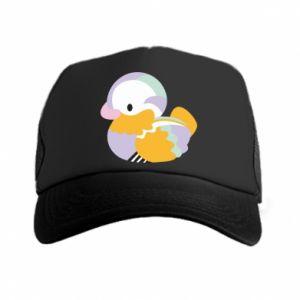 Czapka trucker Bright colored duck