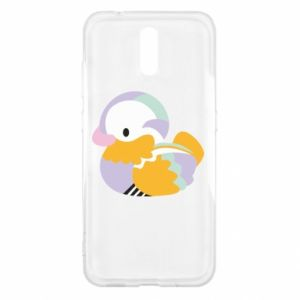 Etui na Nokia 2.3 Bright colored duck