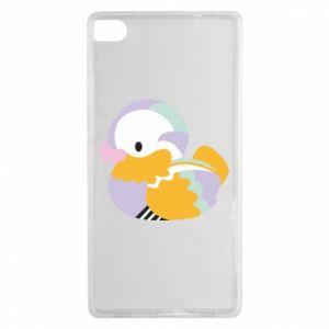 Etui na Huawei P8 Bright colored duck