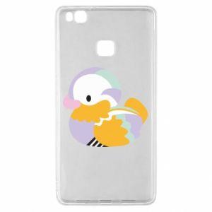 Etui na Huawei P9 Lite Bright colored duck