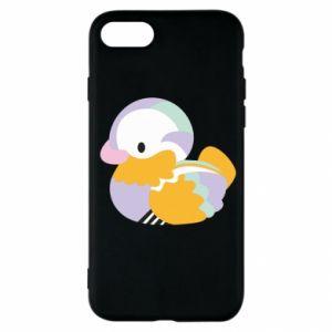 Etui na iPhone SE 2020 Bright colored duck