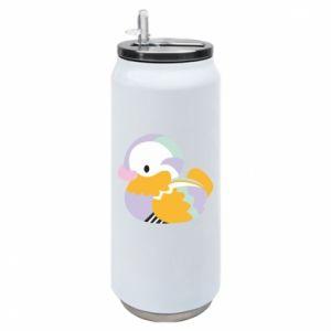 Puszka termiczna Bright colored duck