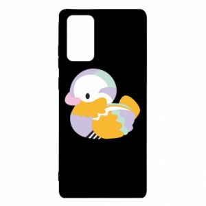 Etui na Samsung Note 20 Bright colored duck