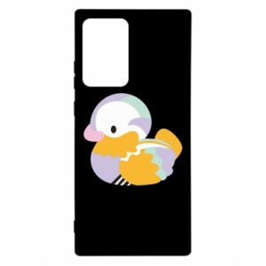 Etui na Samsung Note 20 Ultra Bright colored duck