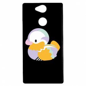 Etui na Sony Xperia XA2 Bright colored duck