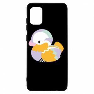 Etui na Samsung A31 Bright colored duck