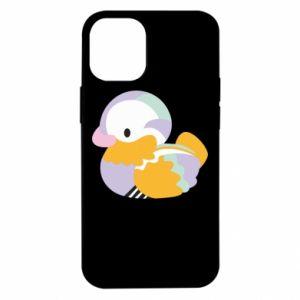 Etui na iPhone 12 Mini Bright colored duck