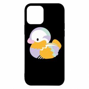 Etui na iPhone 12/12 Pro Bright colored duck