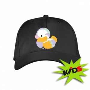 Czapeczka z daszkiem dziecięca Bright colored duck