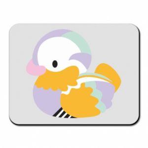 Podkładka pod mysz Bright colored duck