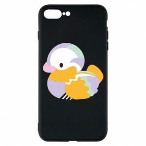 Etui do iPhone 7 Plus Bright colored duck