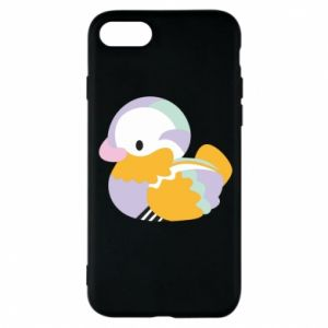 Etui na iPhone 8 Bright colored duck