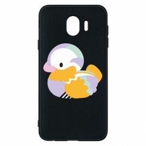 Etui na Samsung J4 Bright colored duck