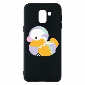 Etui na Samsung J6 Bright colored duck