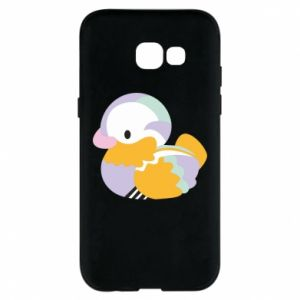 Etui na Samsung A5 2017 Bright colored duck