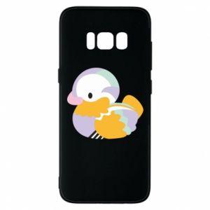 Etui na Samsung S8 Bright colored duck