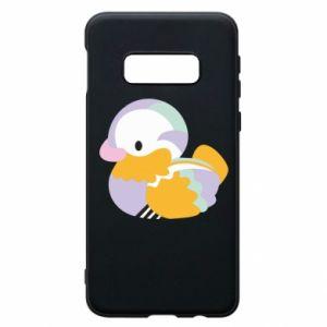 Etui na Samsung S10e Bright colored duck