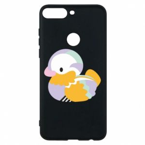 Etui na Huawei Y7 Prime 2018 Bright colored duck