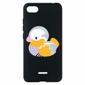 Etui na Xiaomi Redmi 6A Bright colored duck
