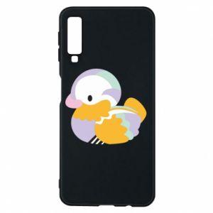 Etui na Samsung A7 2018 Bright colored duck
